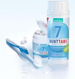 Denttabs Tabs und Bürste